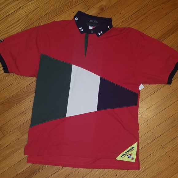 677f72834 Tommy Hilfiger Shirts | Polo Shirt Multicolor Mens Xl | Poshmark